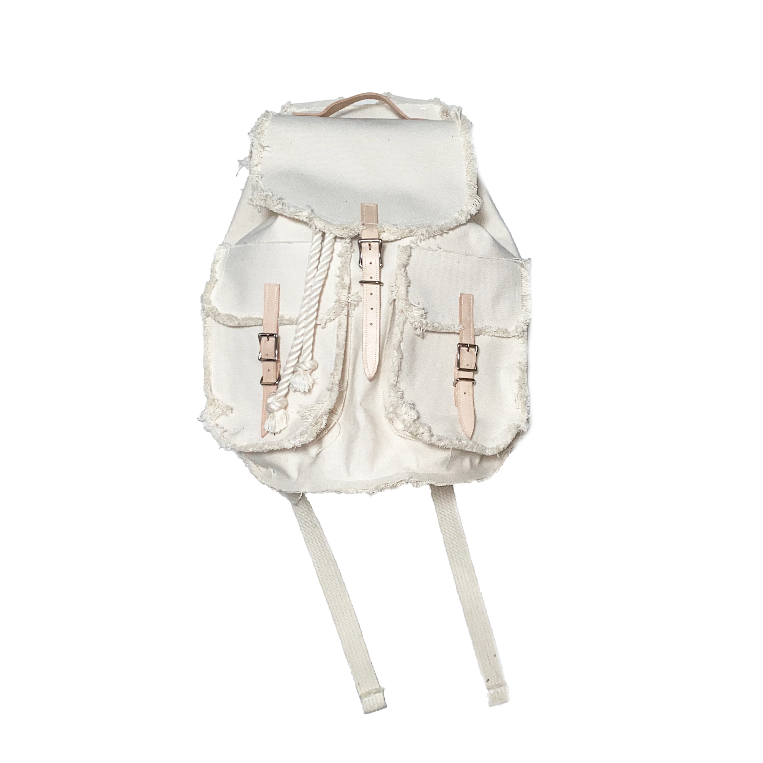 """Large Backpack """"Prototype004"""" / White - 画像1"""