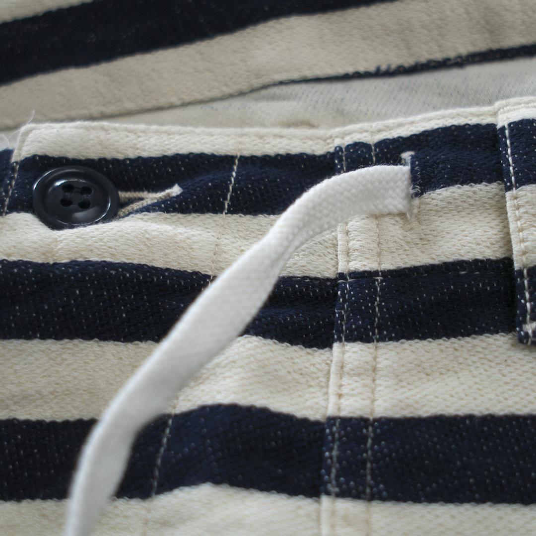 FOB FACTORY エフオービーファクトリー F4147 relax baker shorts リエラックスベイカーショーツ・28B:ストライプ【メンズ】