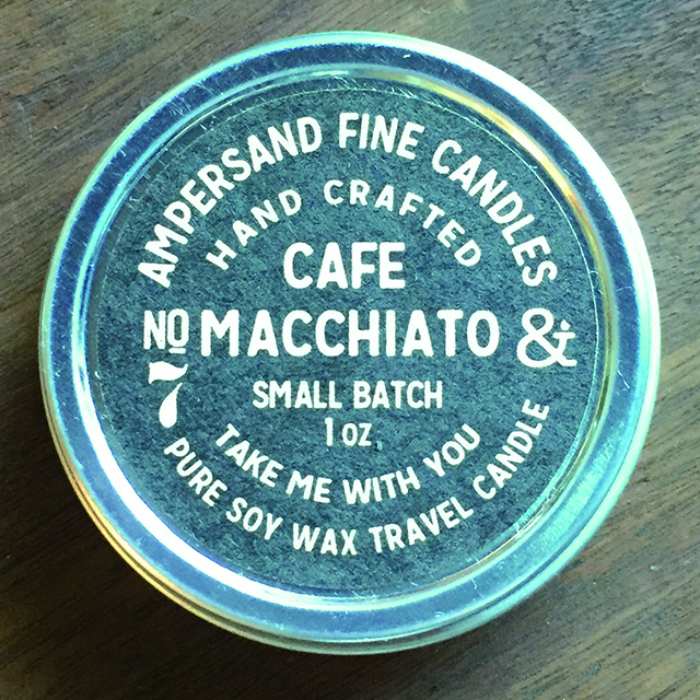 1oz Travel Can -CAFE MACCHIATO- キャンドル Candles - 画像1