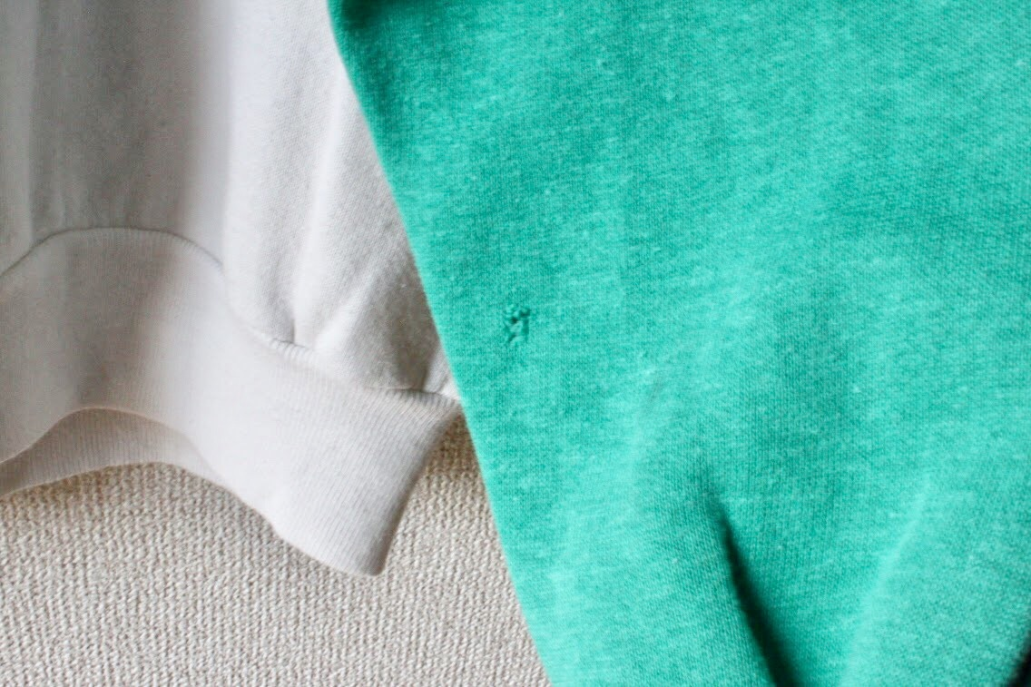 Vintage raglan sweater