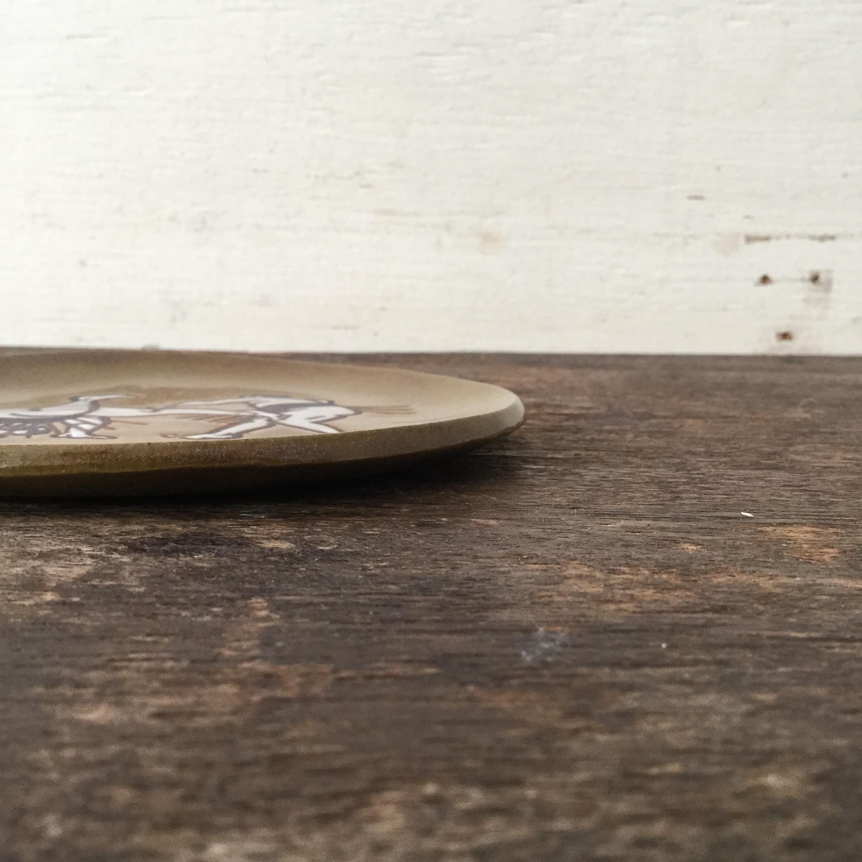 清水直子 / 小皿 相撲 SN-16 - 画像4