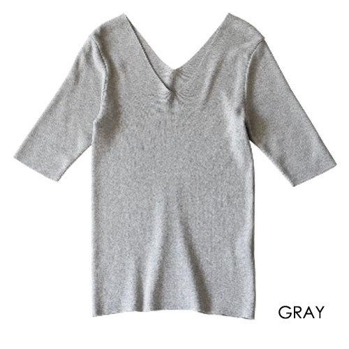 MICA&DEAL v/n rib pullover
