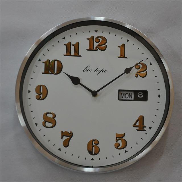 掛け時計 デイデイト BIO‐005 板尾工芸オリジナル - 画像1