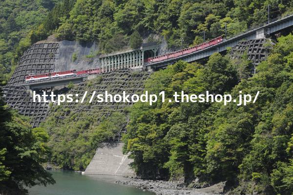 大井川鐵道井川線と山_dsc6658