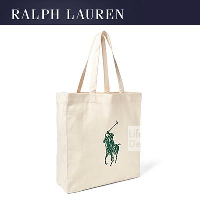 Ralph Lauren ラルフローレン キャンバストート ビックポニー エコバッグ ネコポス対応