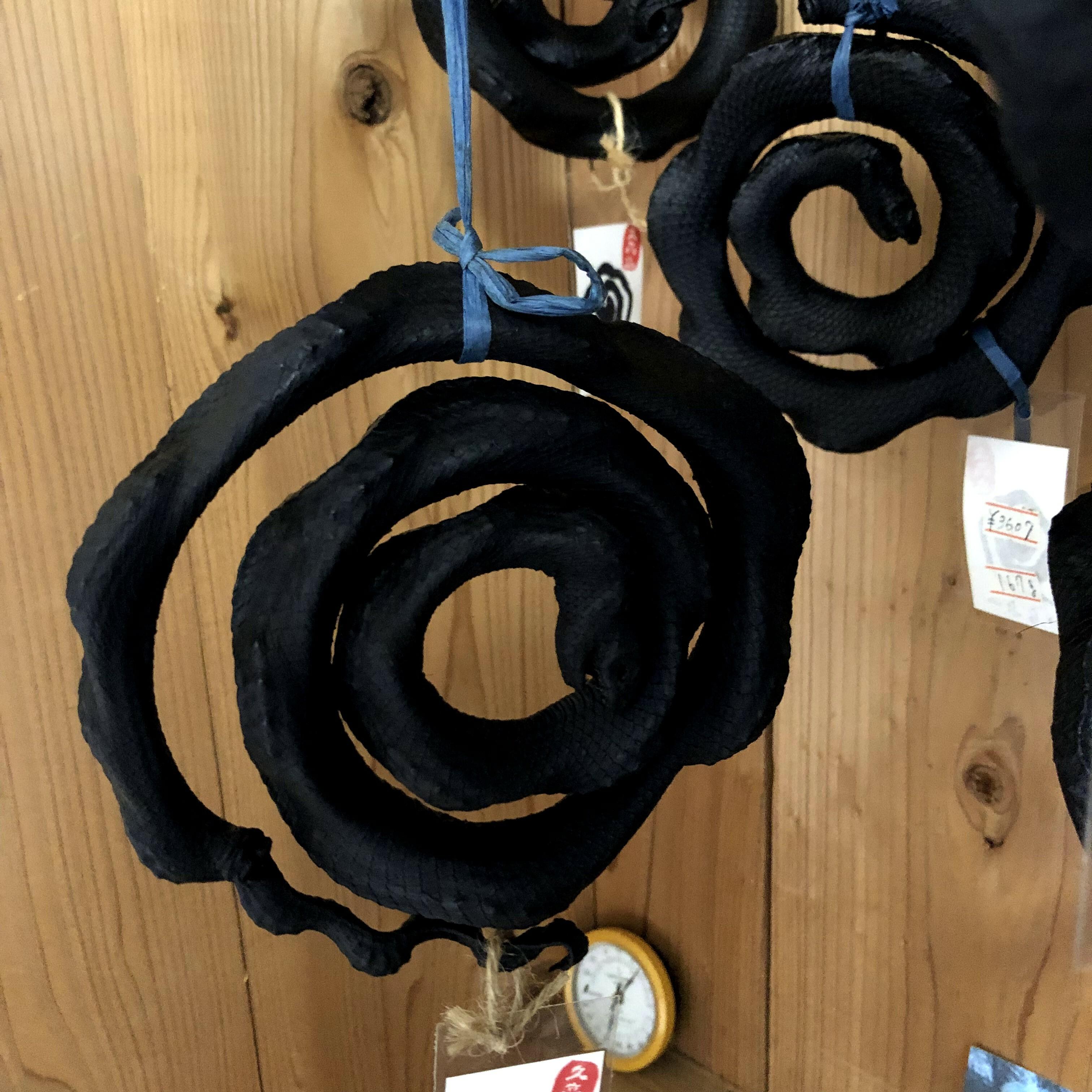 沖縄最強のパワースポット久高島のイラブー(海蛇の燻製-宮古の味噌付き)