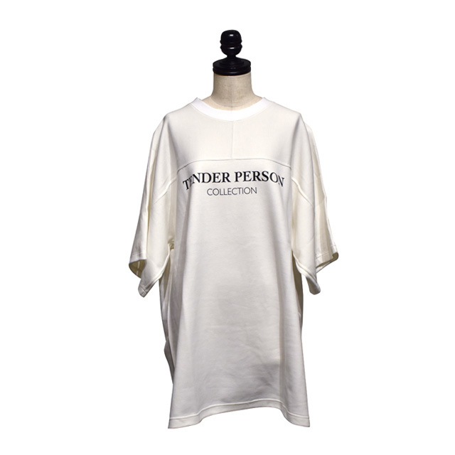 TENDER PERSON / HI-VIS BB BIG TEE / White