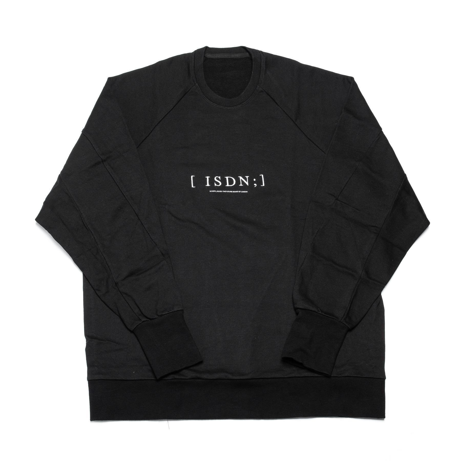 637CPM4-BLACK / ISDN スウェットシャツ