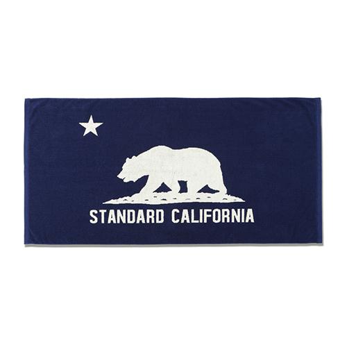 STANDARD CALIFORNIA #SD Cal Flag Towel Blue