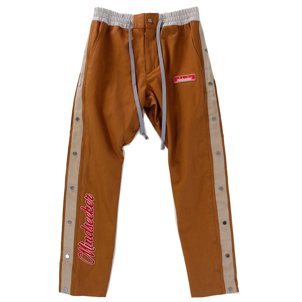 MINDSEEKER Track Pants Khaki