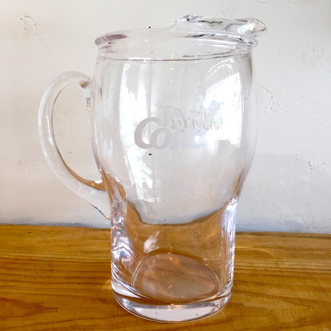 ANTIQUE COKE GLASS POT/アンティーク コカコーラグラスポット(現品限り)