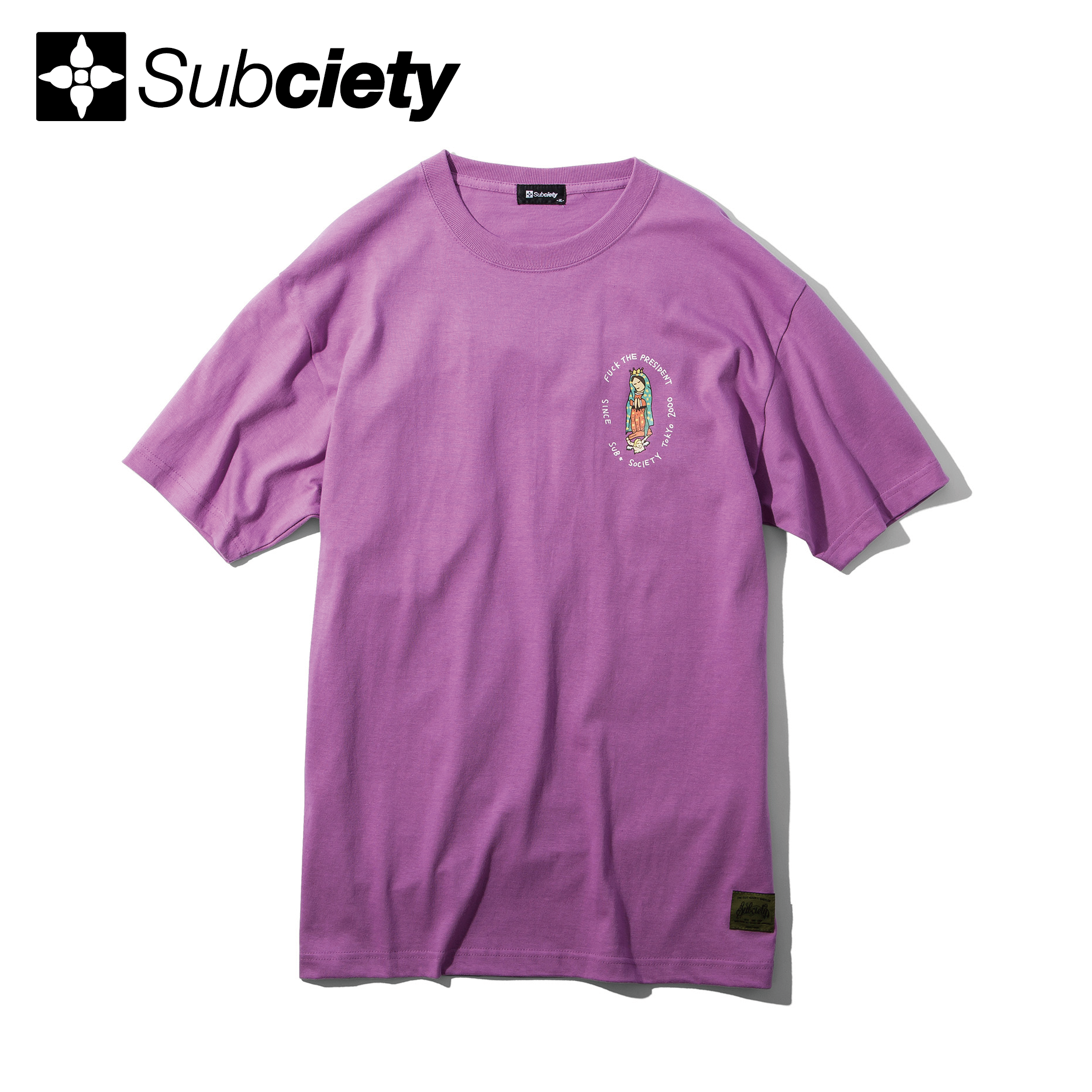 Subciety(サブサエティ) | Dear president S/S (Purple)