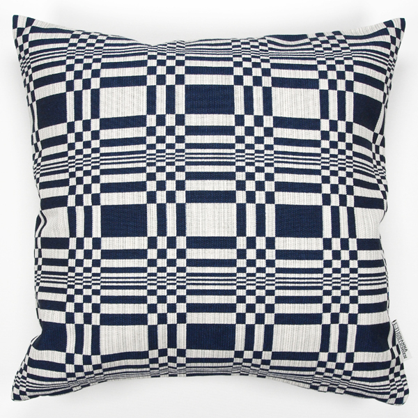 JOHANNA GULLICHSEN Zipped Cushion Cover Doris Dark Blue