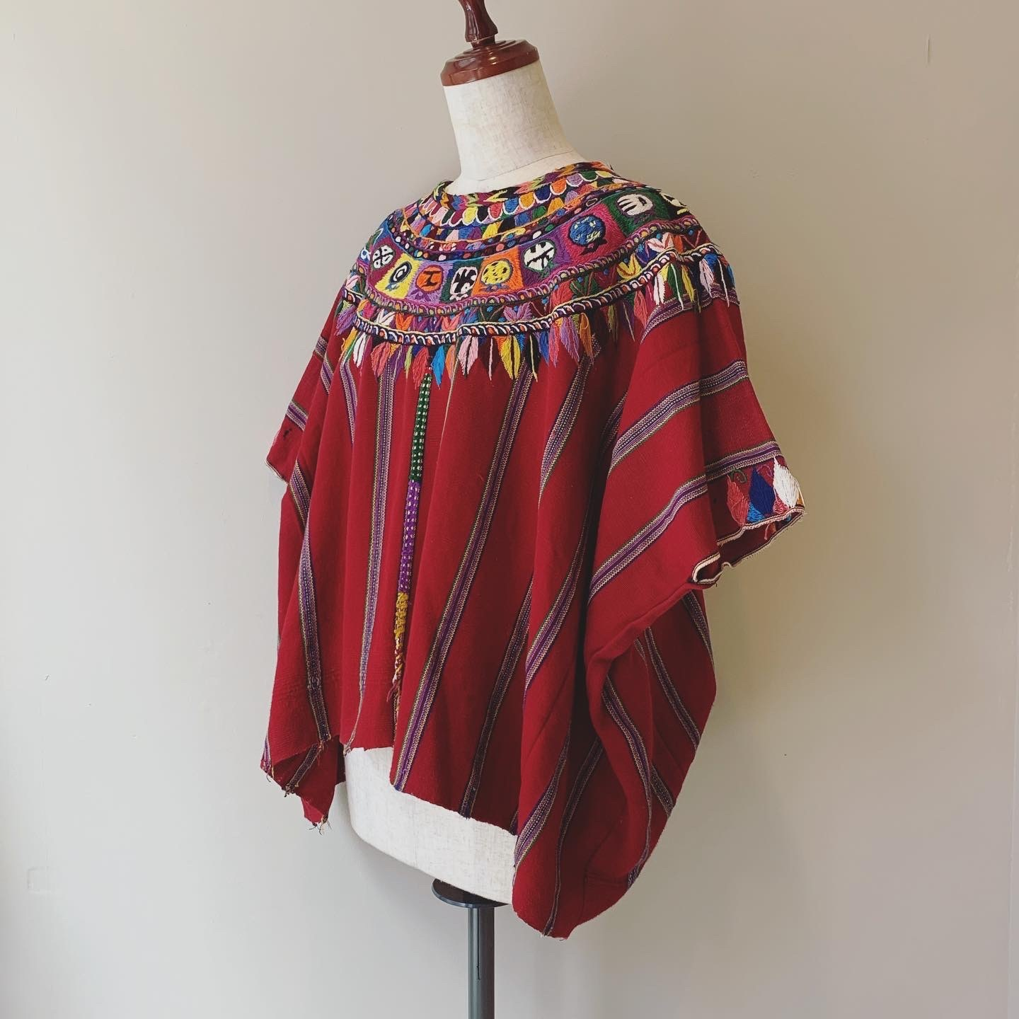 vintage embroidery huipil