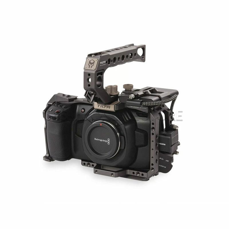 TILTA Camera Cage for BMPCC 4K – Basic Kit (Tilta Gray)