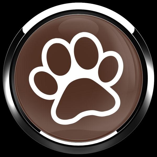 ゴーバッジ(ドーム)(CD1072 - DOG PAW) - 画像3