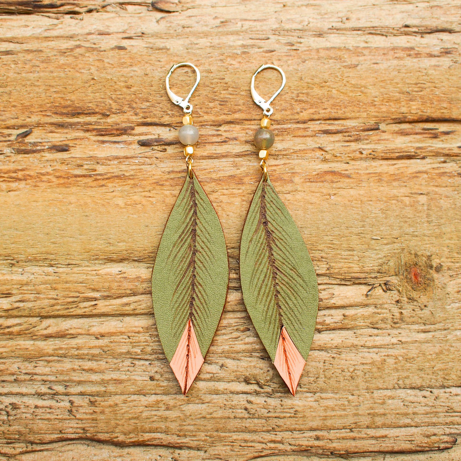 Feather Leaf / Green