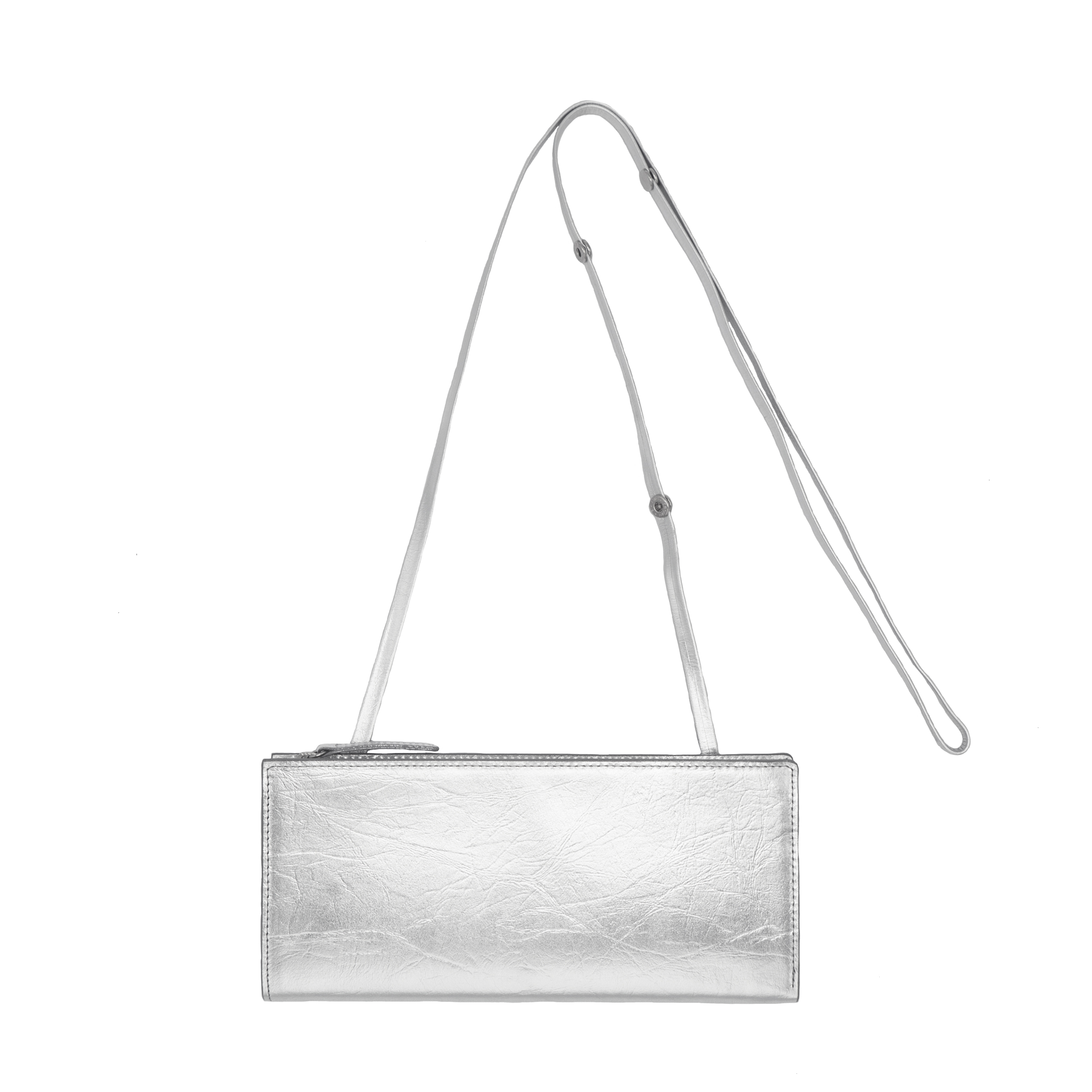 TIN BREATH Travel purse Silver