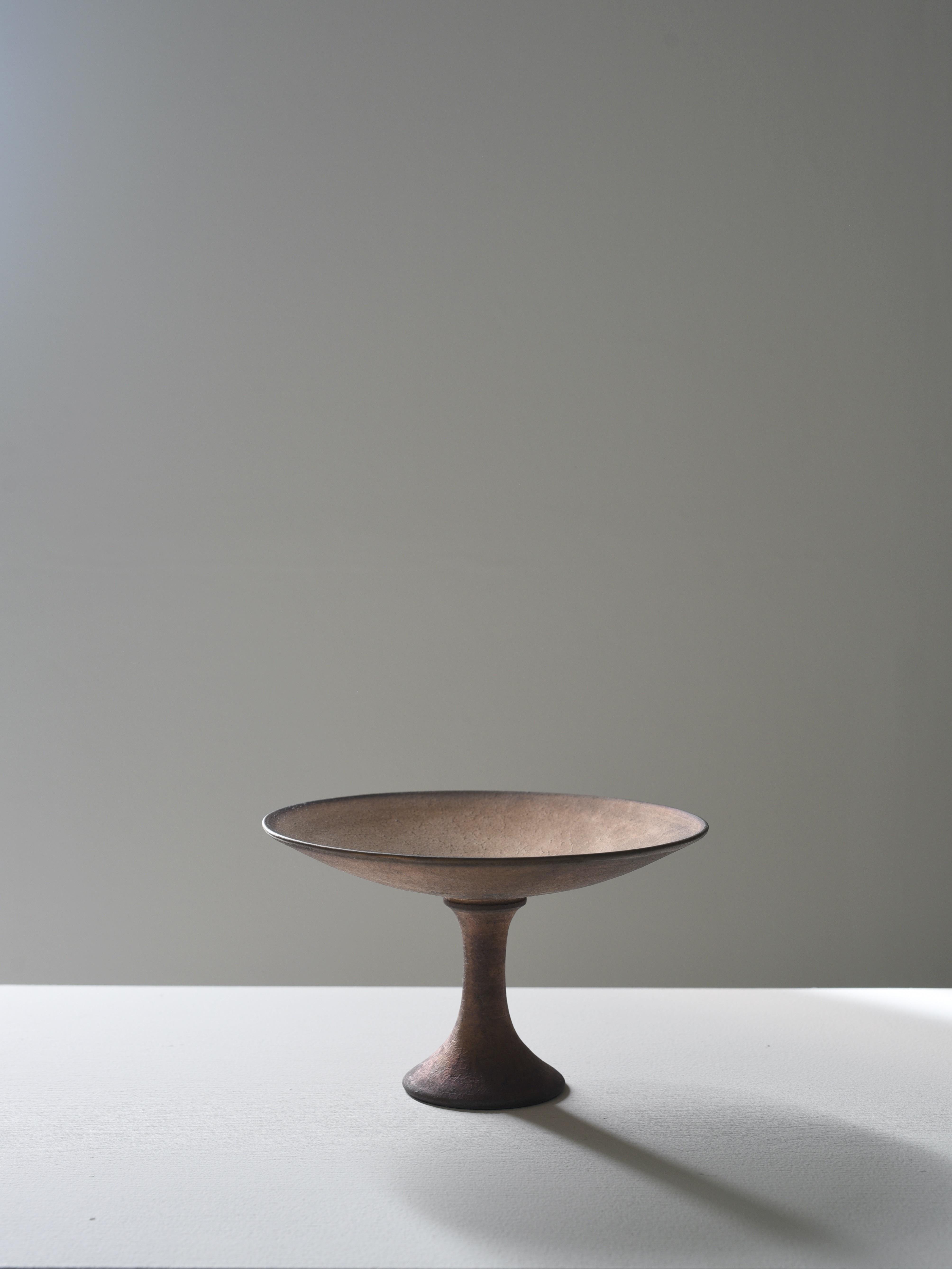 瀬川辰馬|硫化銀彩コンポート ゴールド