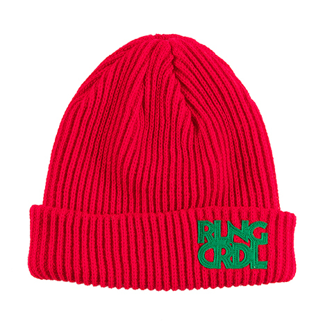 【ROLLING CRADLE | ロリクレ】RLNGCRDL KNIT CAP / Red