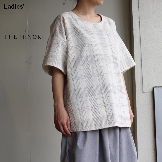 THE HINOKI オーガニックコットンPOシャツ TH19S-17 (チェック)