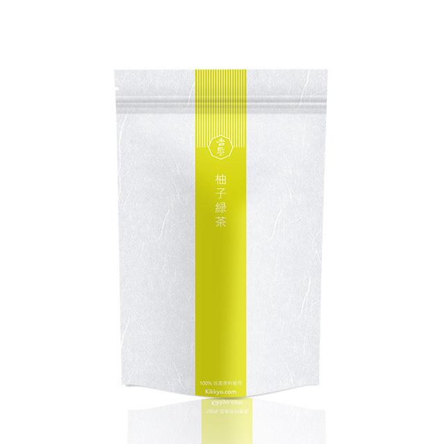 吉饗 Kikkyo  柚子緑茶 ティーバッグ 美肌 100% 国产原料使用