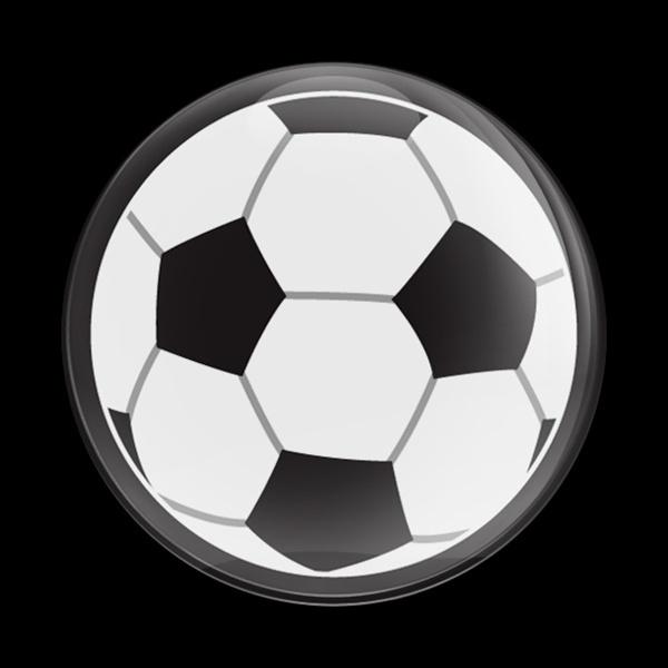 ゴーバッジ(ドーム)(CD0505 - SPORTS SOCCER BALL) - 画像1