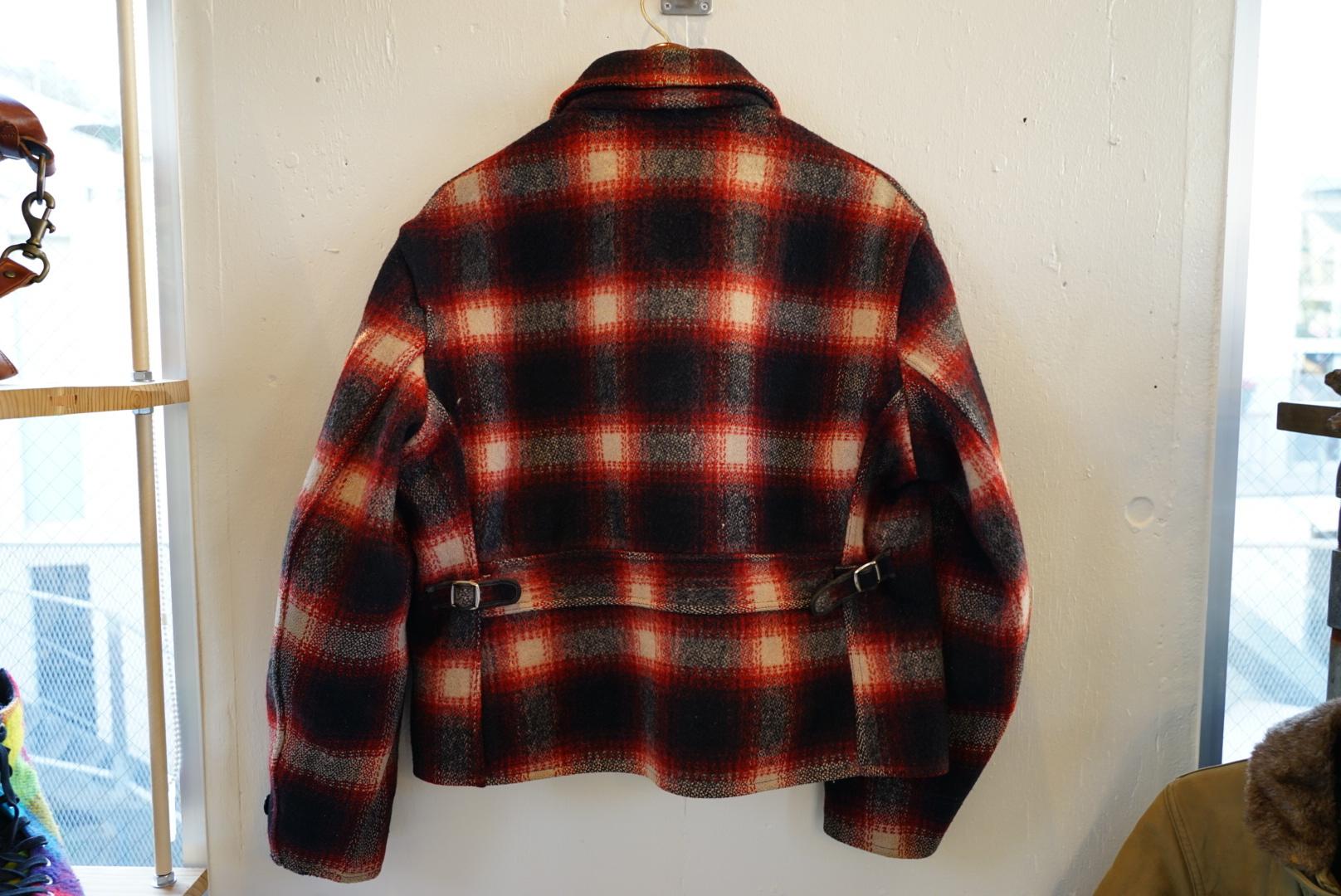 BARTEL ブロックチェック ウールジャケット warmwear