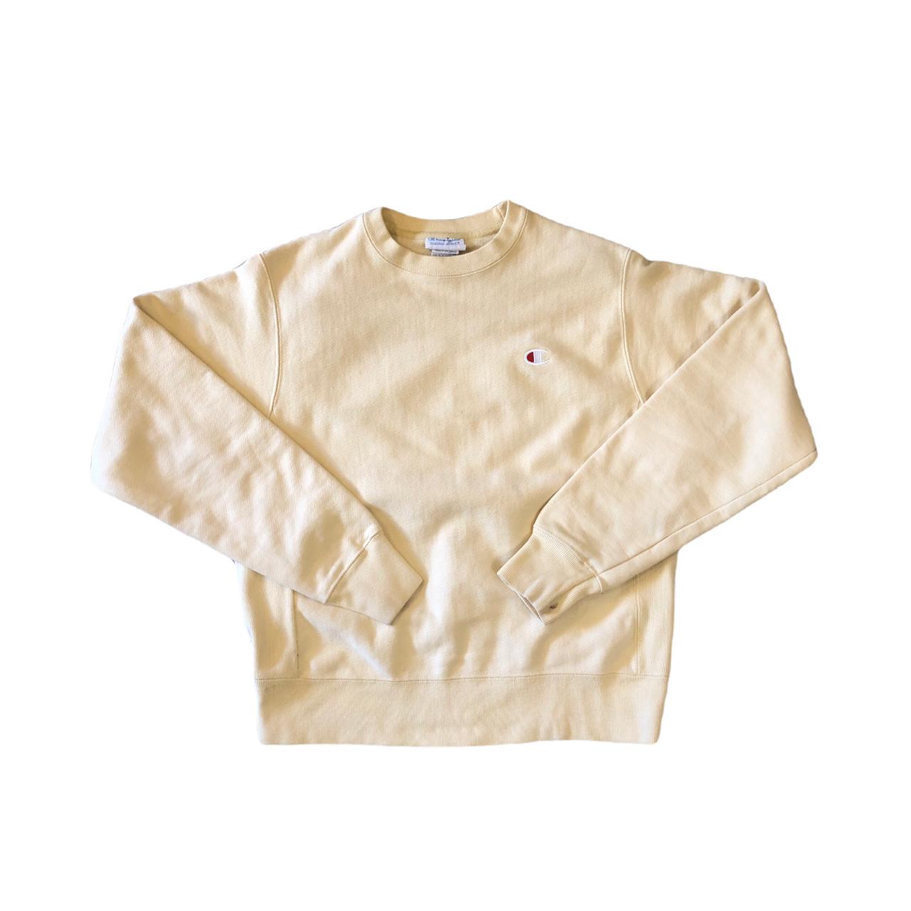 Champion R/W Yellow Sweat ¥7,800+tax