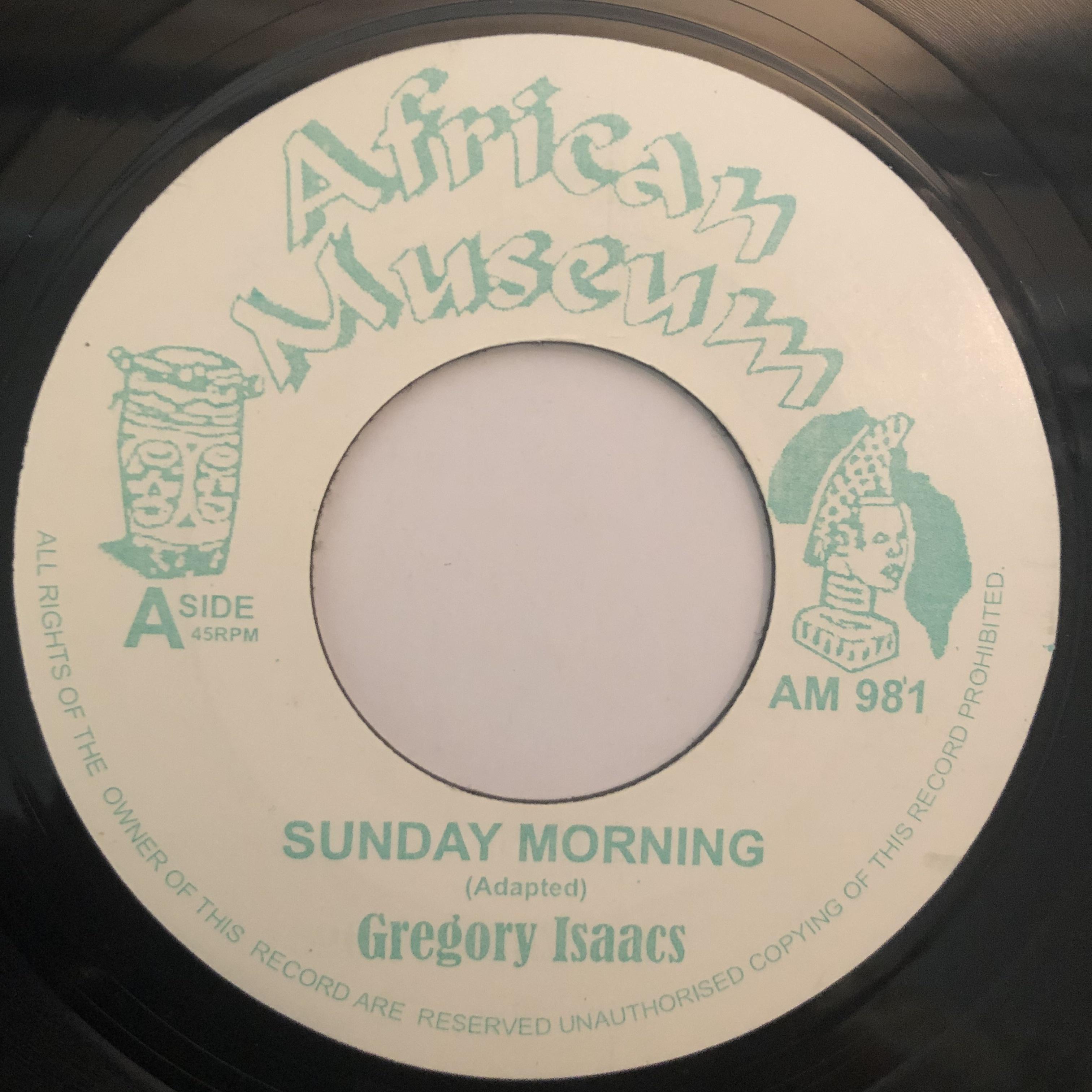 Gregory Isaacs(グレゴリーアイザックス) - Sunday Morning【7-20266】