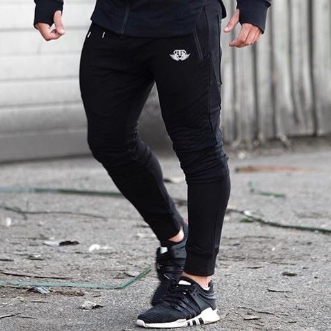 BODY ENGINEERS X NEO Joggers- BLACK OUT