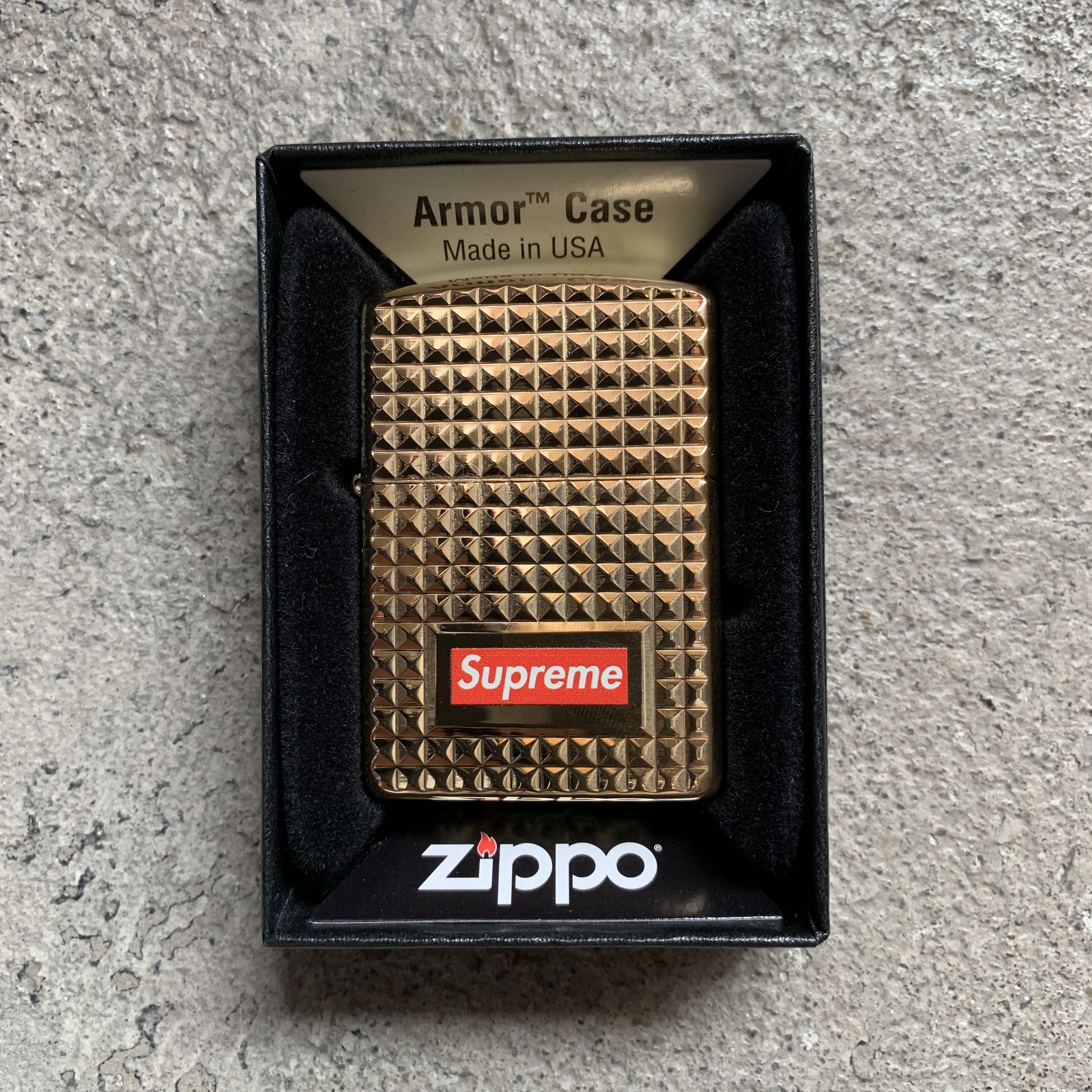 Supreme Diamond Cut Zippo