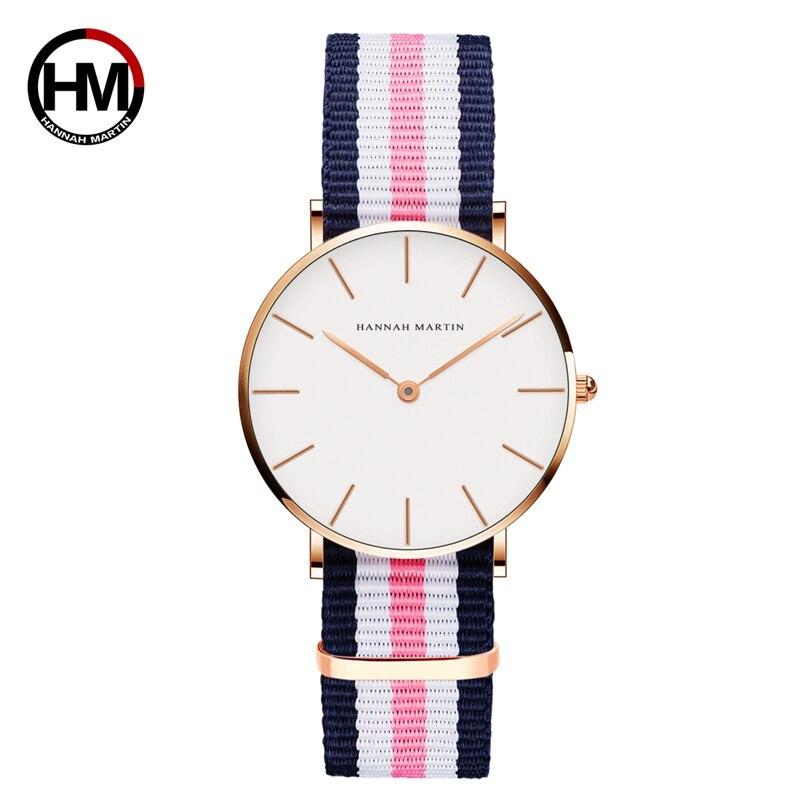 ジャパンクォーツシンプルな女性のファッション時計ホワイトレザーストラップレディース腕時計ブランド防水腕時計36mmCB36-F2