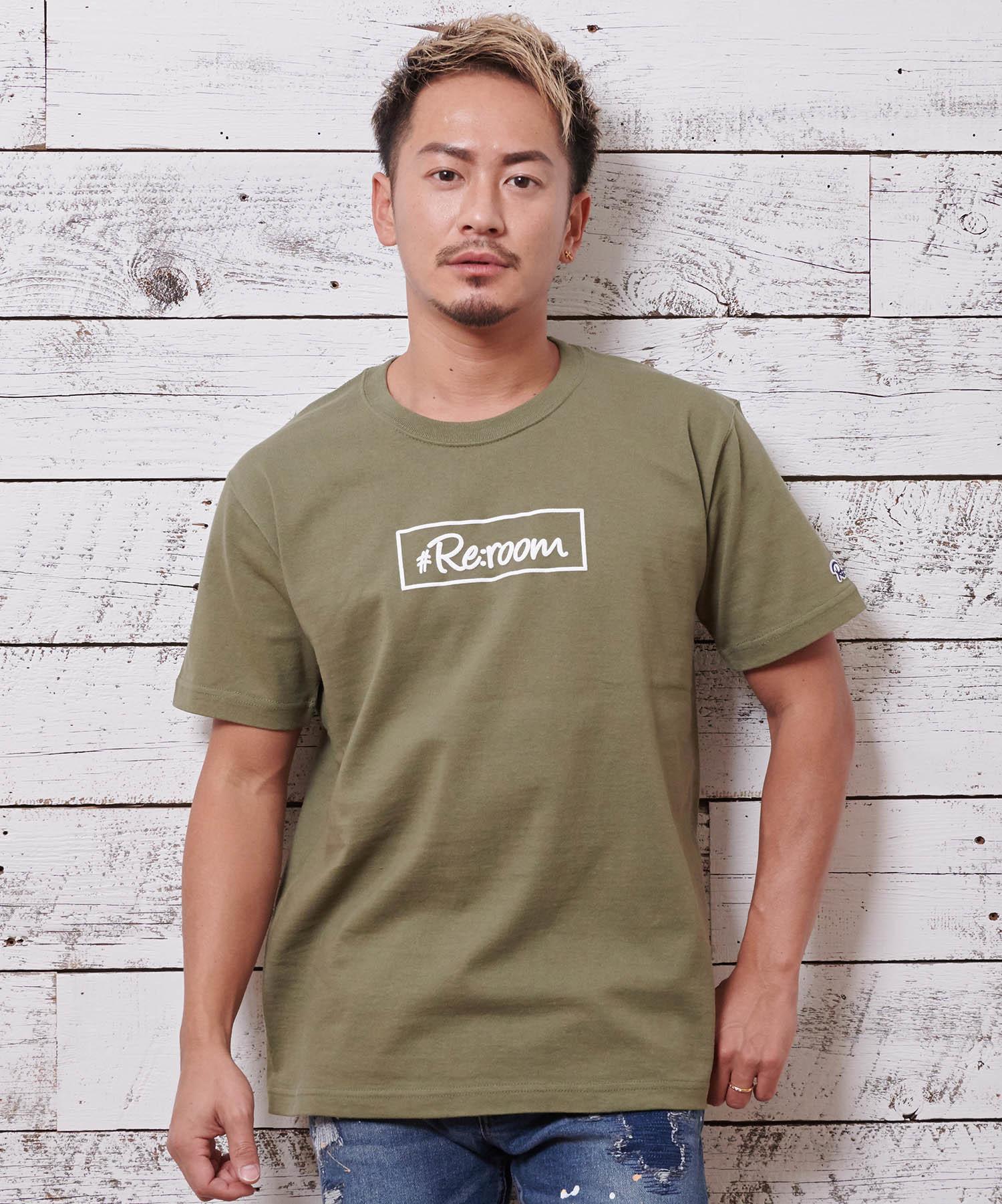 BOX LOGO FOAM PRINT T-shirt[REC188]