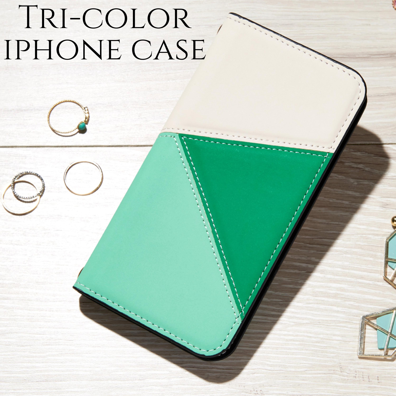 iphoneケース 手帳型 iphoneXR iphoneXs MAX iphone8 plus 7 6s ケース 大人かわいい おしゃれ レザー 上品 スマホケース グリーン