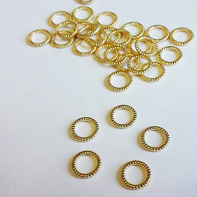 デザインリングパーツ・10mm(2個入り) [H02-021]