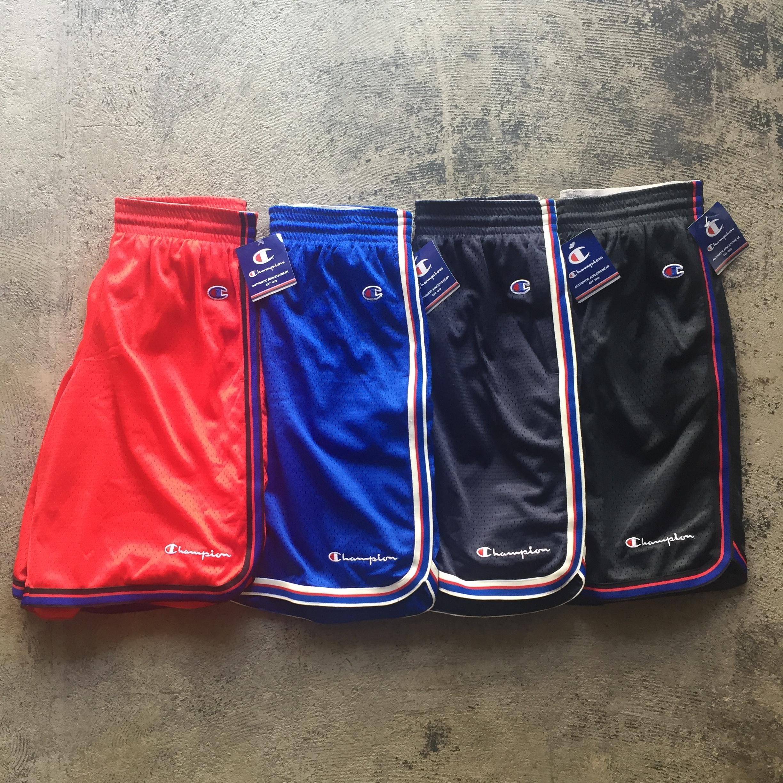 US企画 Champion Authentic Mesh 10 Basketball Short Pants