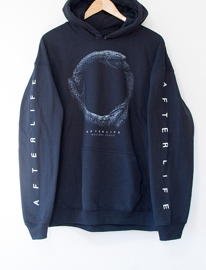 【AFTERLIFE】Vicious Cycle Hoodie (Black)