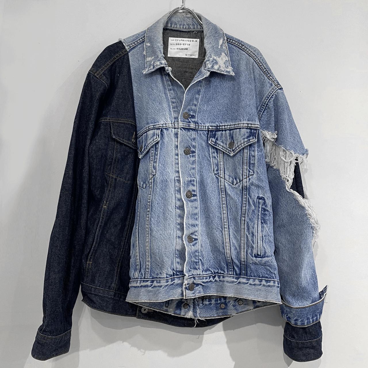 M THING EPIPHYTIC-D Denim jacket