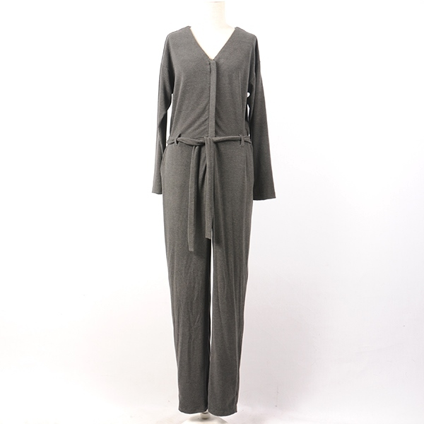 df17AW-16 SOFT JUMP SUIT (chacoal)