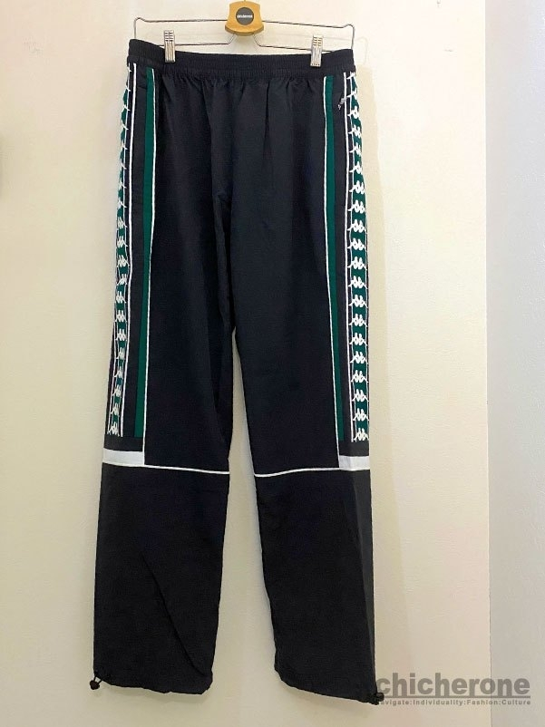 【Kappa】BANDA WIND PANTS BLACK