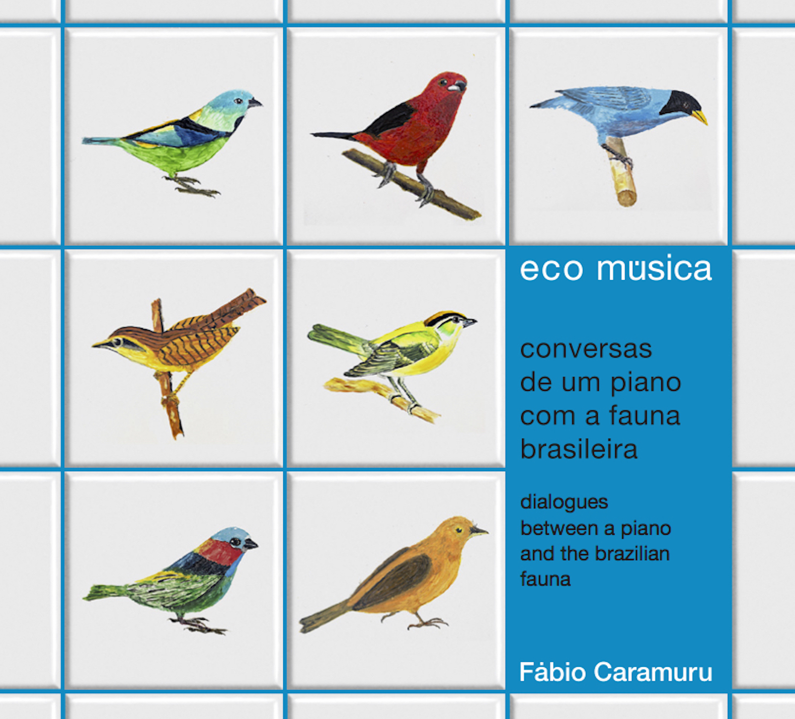 Fábio Caramuru『Eco Música』(flau)