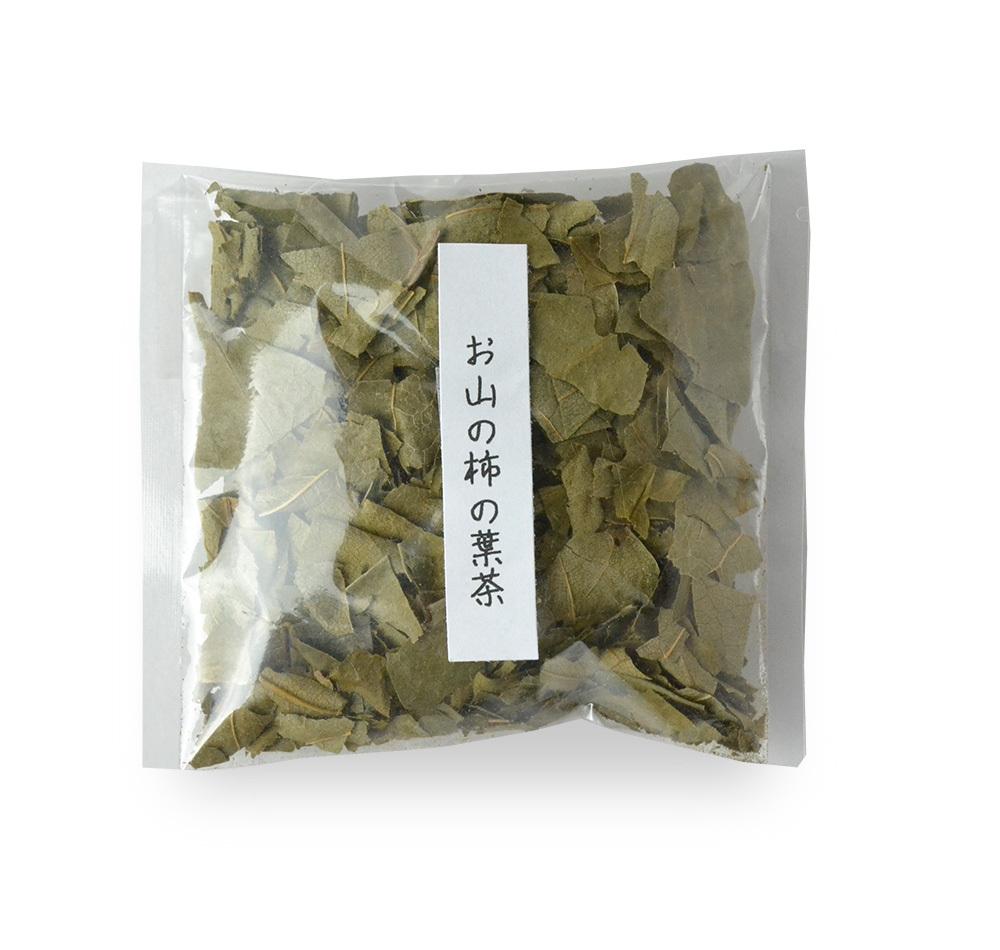 お山の柿の葉茶