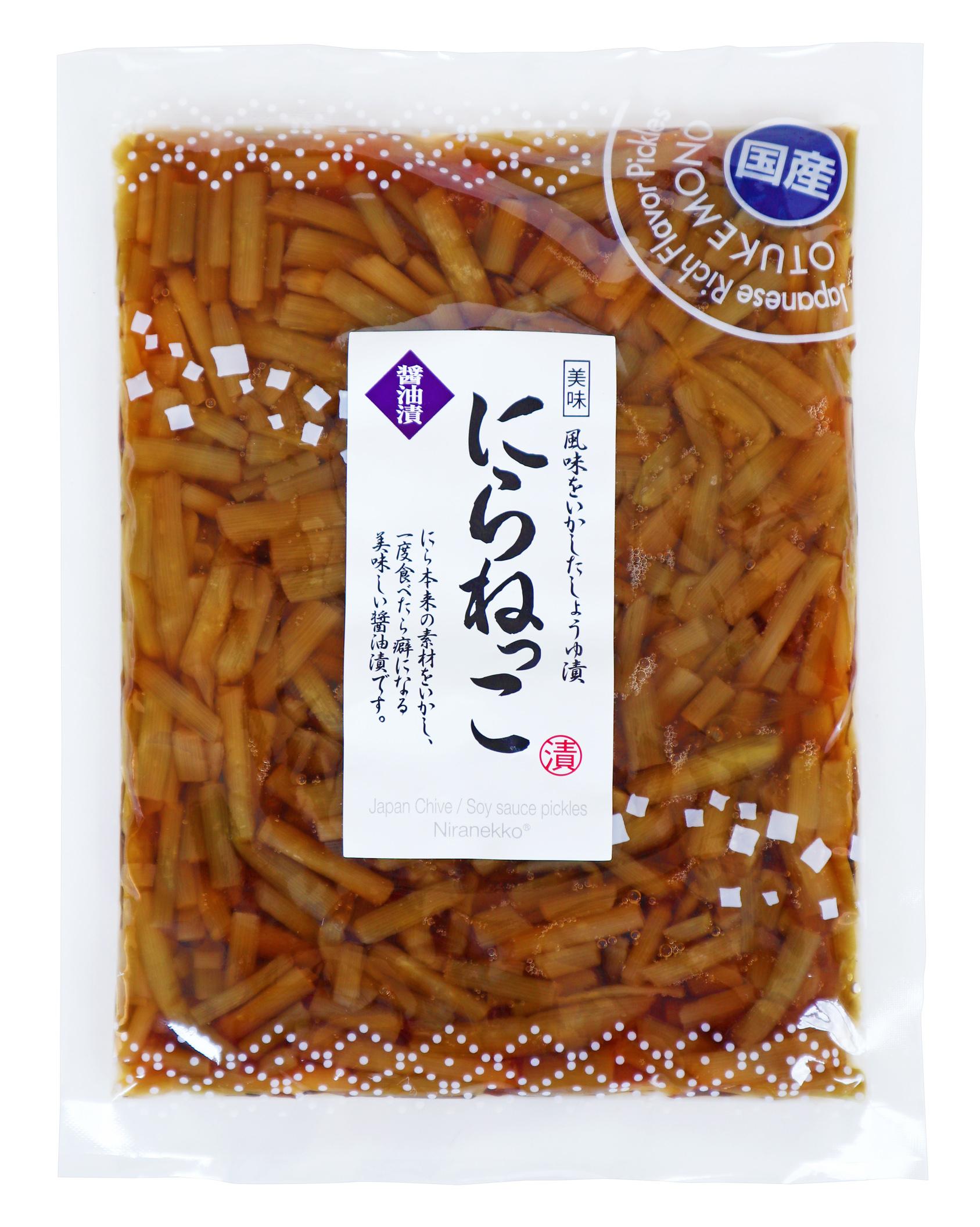 日本の味 にらねっこ!にらの茎を中心にシャキシャキ感が程よく残るにらねっこです!