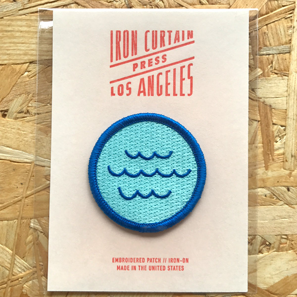 Iron Curtain Press Patches / Waves