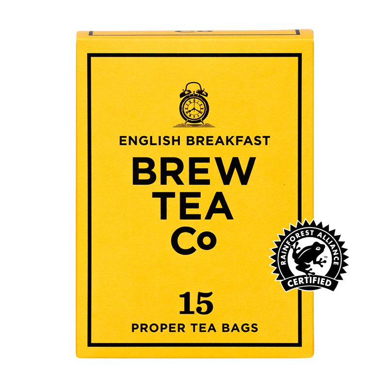 BREW TEA Co. ブリューティーカンパニー tea bag ティーバッグ 15個入り English Breakfast イングリッシュ ブレックファースト