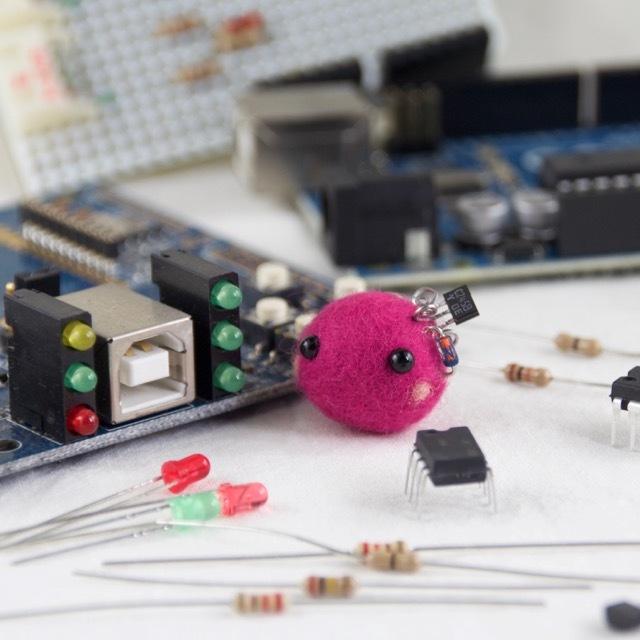 学びのサポート♪電気系cororin(ピンク)