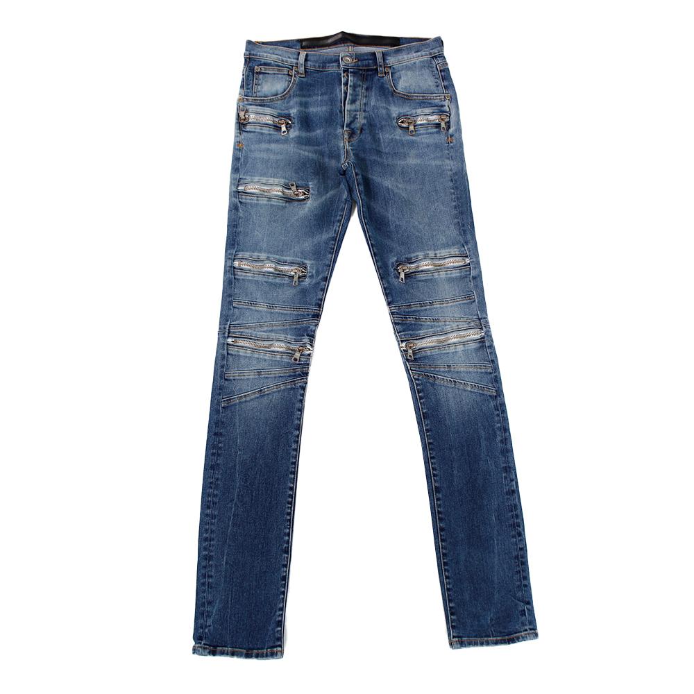 BEN TAVERNITI UNRAVEL Zipper Jeans