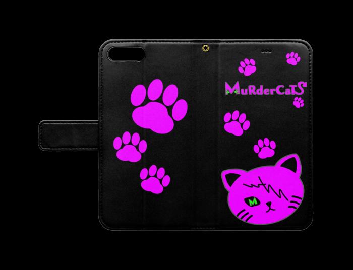 MuRderCaTs 手帳型iPhoneケース