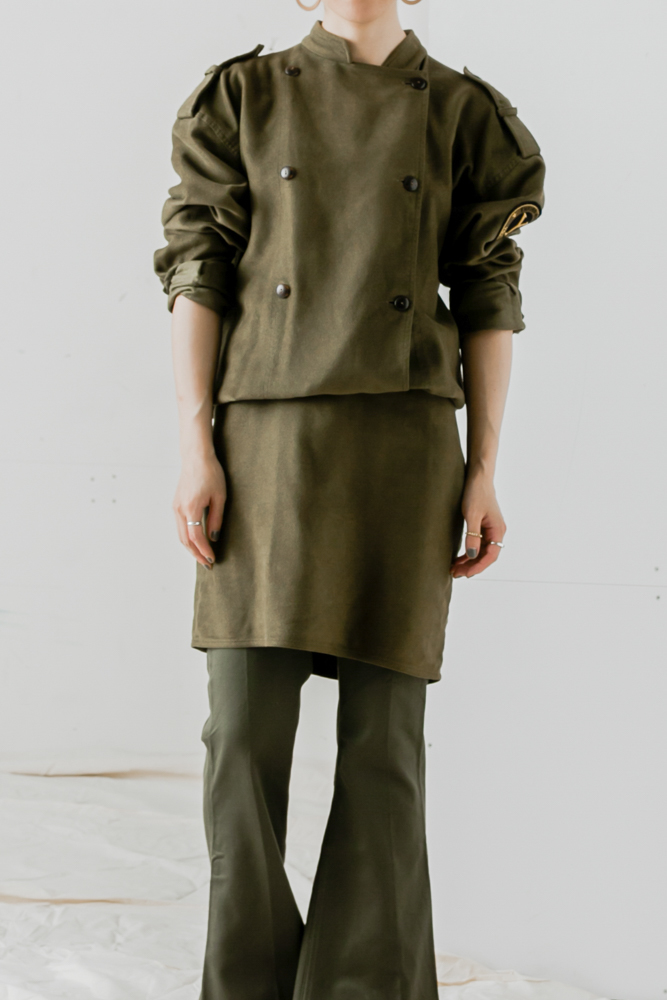 """ENRICO COVERI"" Military Dress"